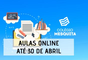 aula online - 30 de abril